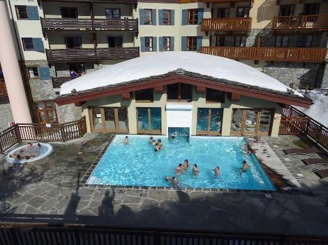 ARC 1950-Appart luxueux Sud 65m2 en angle-6/8 pers - Savoie - Apartemen