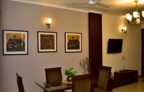 Fully Furnished Apartment 2Bed Room Hauz Khas