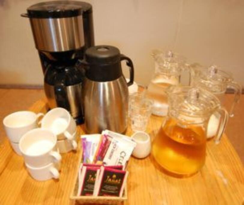 Morning buffet available +540yen Enjoy Maruyama coffee!