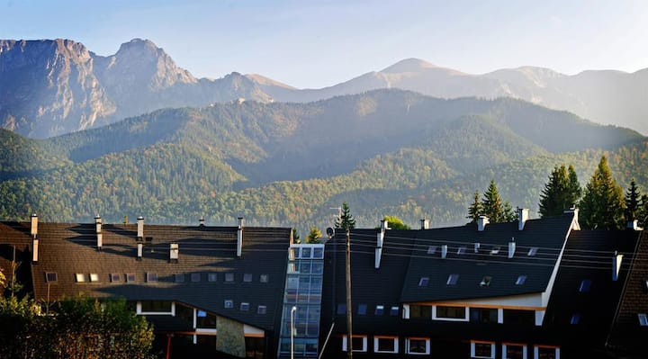 Comfy apartment at the foot of the Tatra mountains