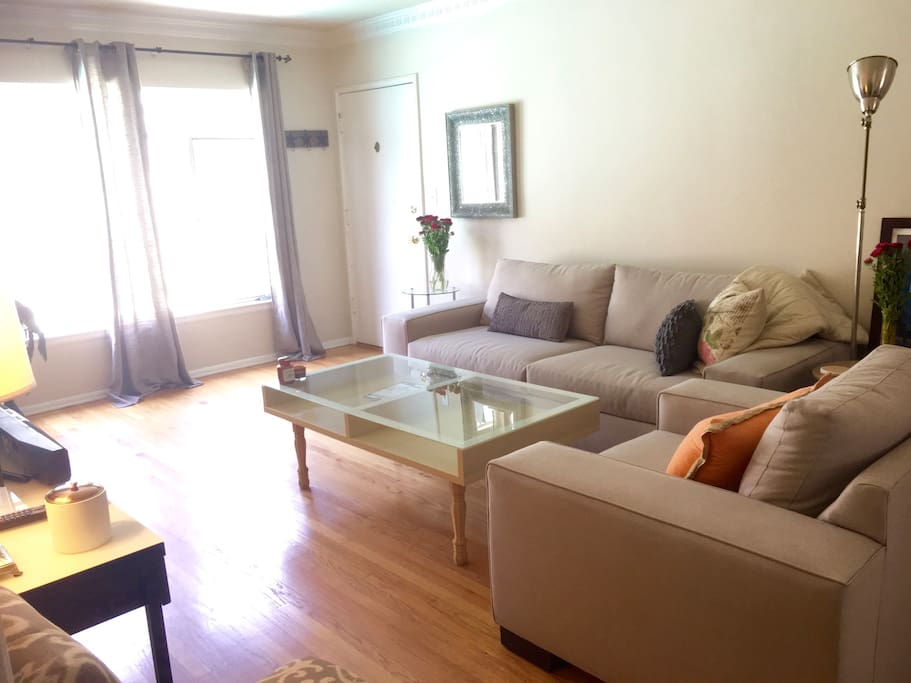 Another view of the spacious bright living room