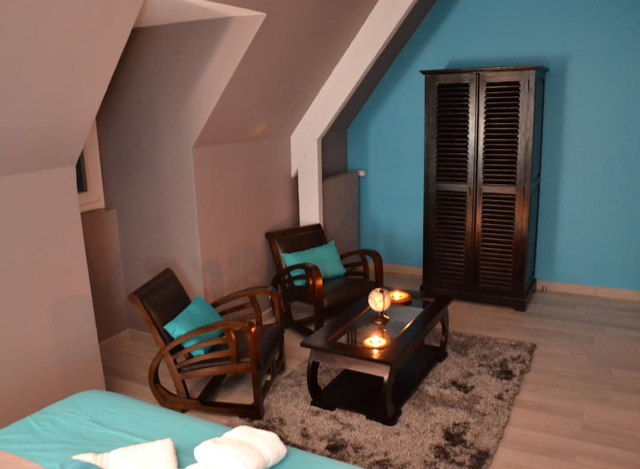 Petit salon de la chambre Livingstone