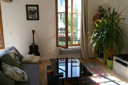 Studio cosy et bien placé dans un quartier branché - Paris - Apartment