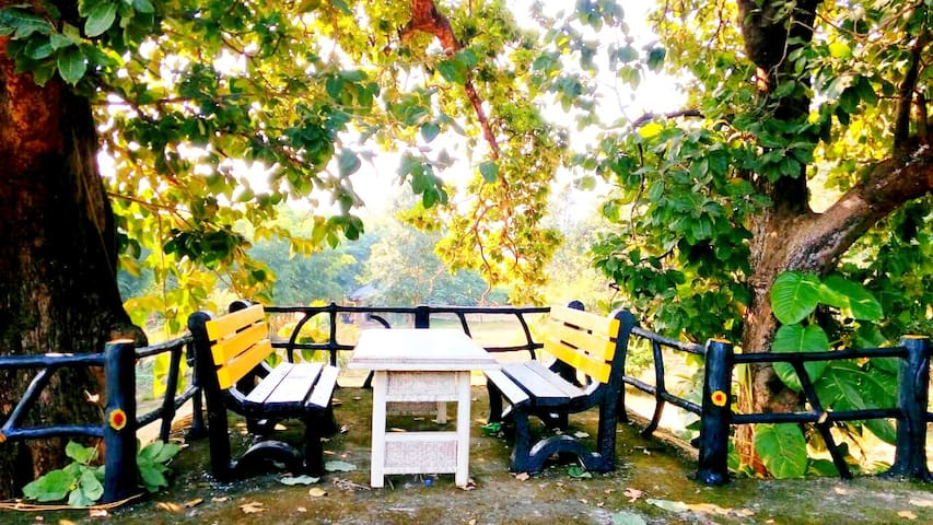 Royal Bamhni Private Cottage for 4 people, Kanha.