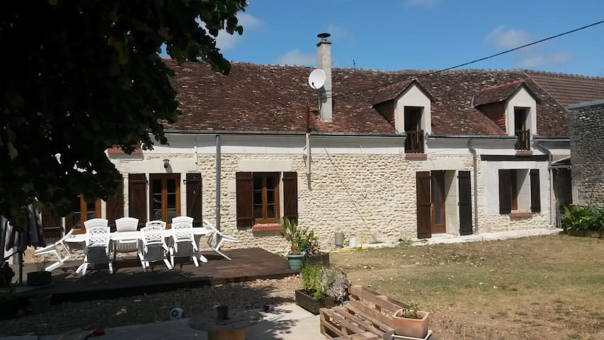 Magnifique longère restaurée proche des châteaux - Saint-Georges-sur-Cher - Dom