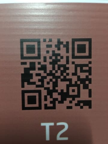 QR code for go to my place T2