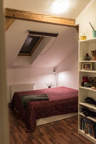 Cozy attic room in the center of Prague