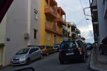 Apartment location- street View