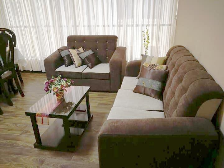 Apartamento nuevo y acogedor