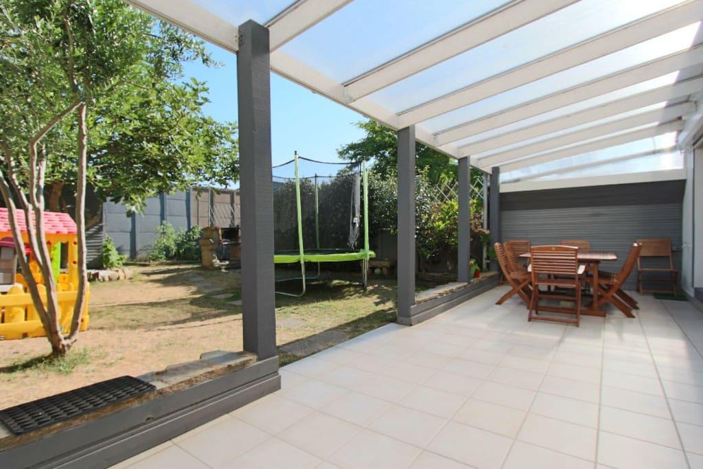 Terrasse et jardin pour votre calme