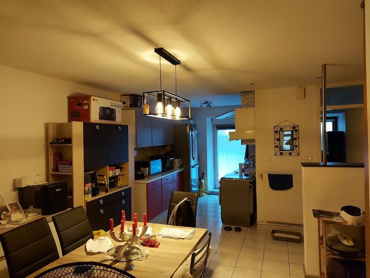 Appartement chaleureux à la frontière Suisse