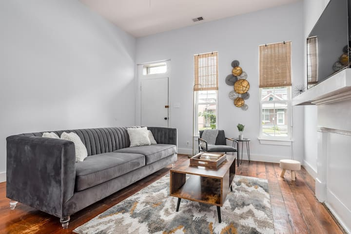 Beautiful 2 BR rehab'd shotgun -Shelby Park -close to downtown!