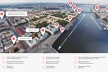 Loft on the Neva river. 15min walk to Hermitage