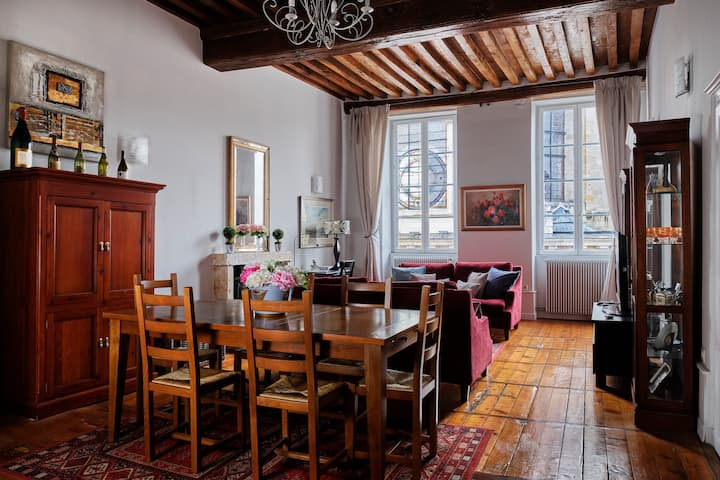Porte St Nicolas -  lovely appt within the walls