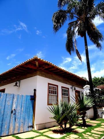 Suíte encantada em Tiradentes - MG - Tiradentes - บ้าน