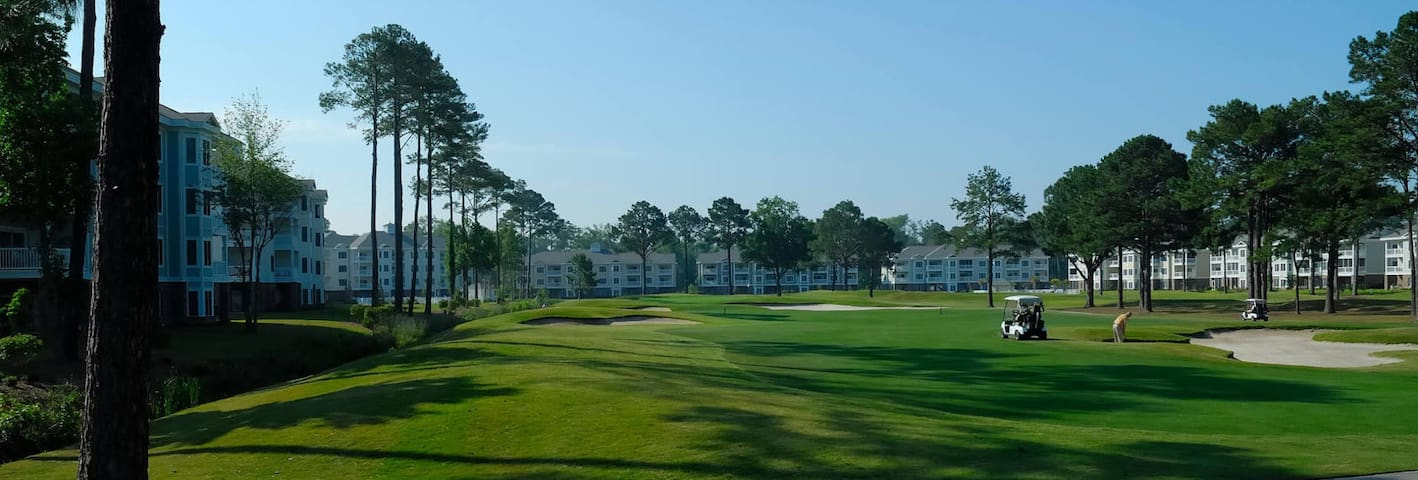Perfect condo for beach or golfing getaway.