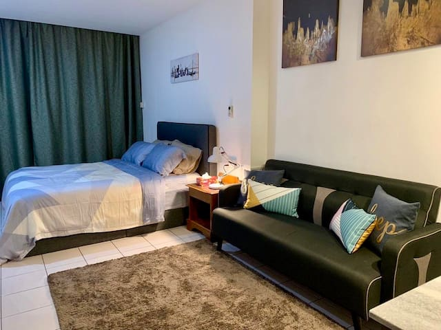 Cozy & City Centre Studio @ Api-Api Apartment, KK