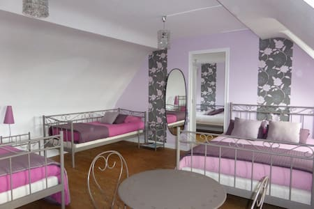 Chambre LILAS - Eslettes - Bed & Breakfast