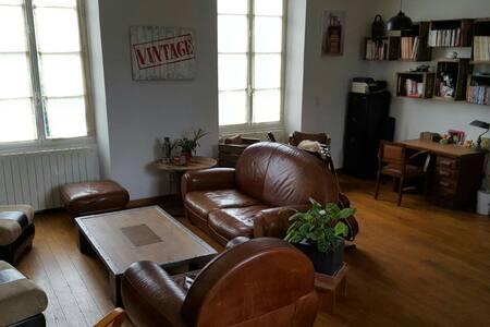 Maison de caractere avec piscine - Villedoux - Hus