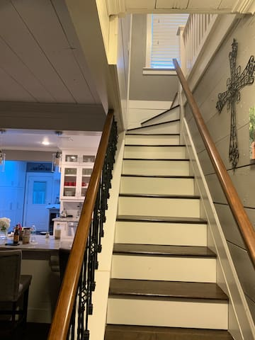 Staircase to your private loft!