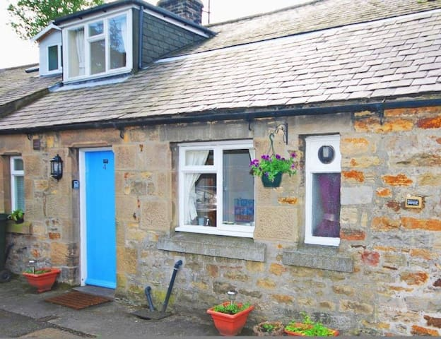 Hareshaw Linn Cottage, character cottage for 2 - เบลลิงแฮม - บ้าน