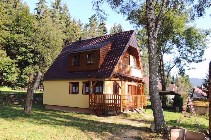 Rodinná dovolená  na Lipně s výhledem na jezero - Lipno nad Vltavou - Skjul