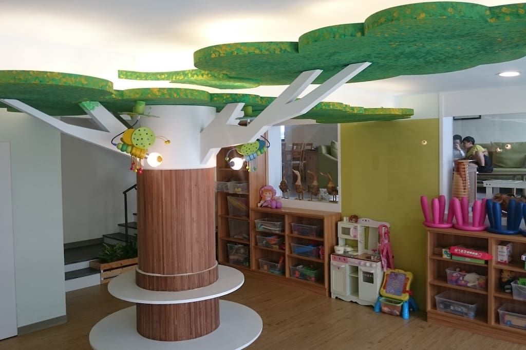 兒童專屬遊戲室