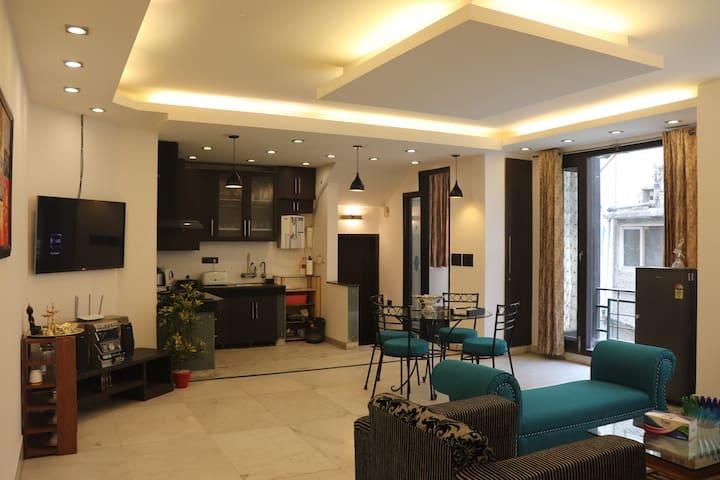 Modern 2BHK apartment at GK-2