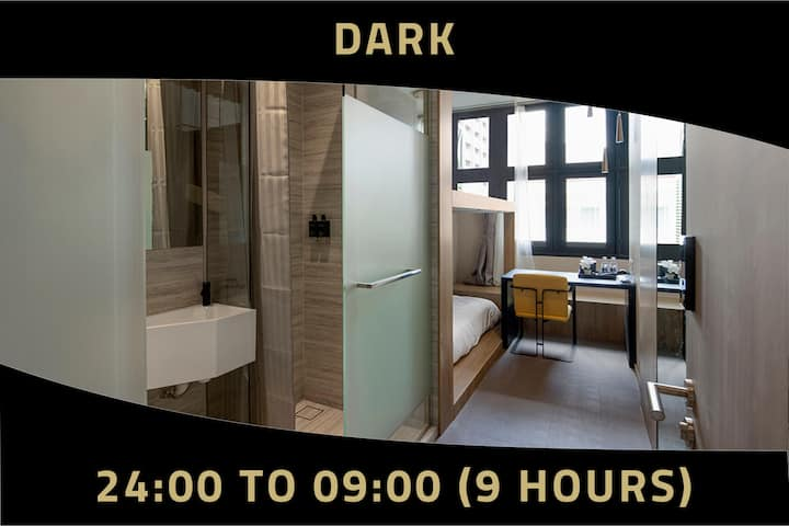 9Hours:12mn-9am private cabin at Tanjong Pagar MRT