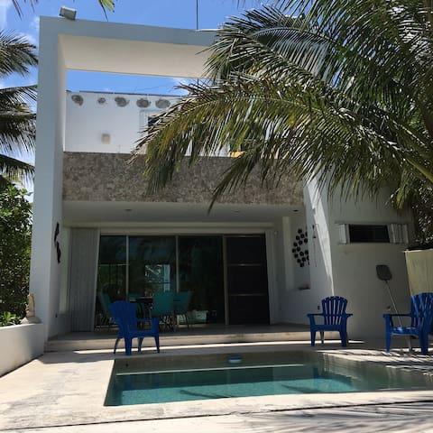 Villa de playa moderna y acogedora Telchac Puerto