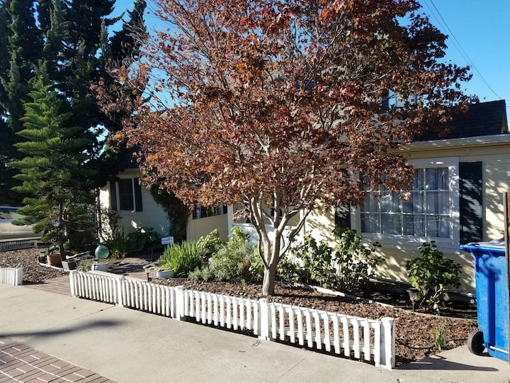 Cheerful and comfortable w private entrance & deck