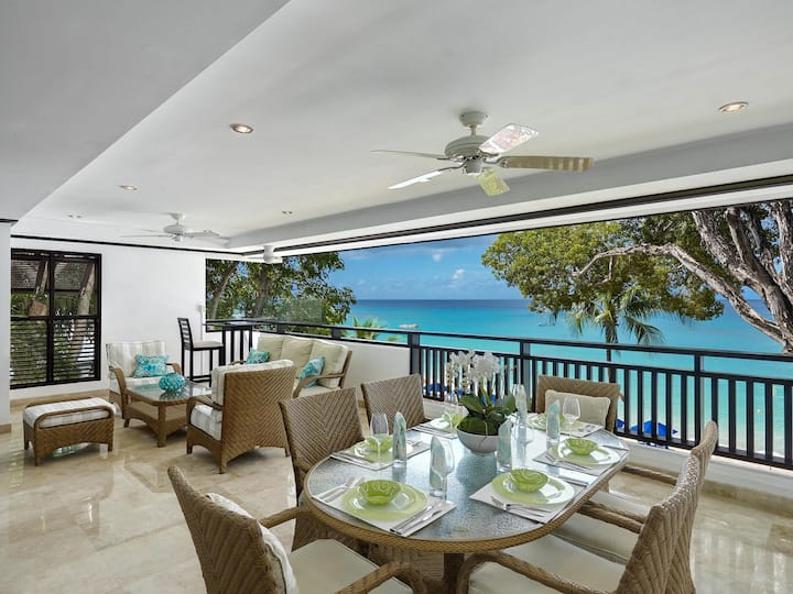 Coral Cove 7 in Paynes Bay, St James by Personal Villas - Luxurious Beachfront Living