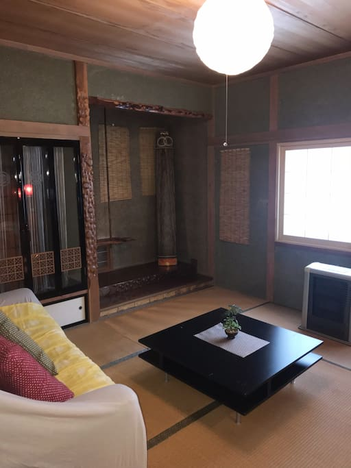 Japanese style living room
