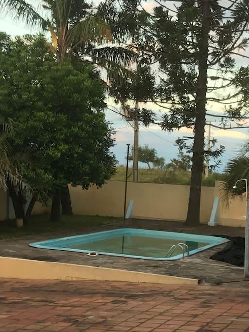 Ótima piscina para relaxar!!