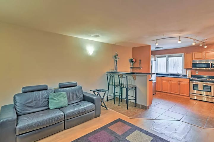 Garden Level Midtown Anchorage Condo