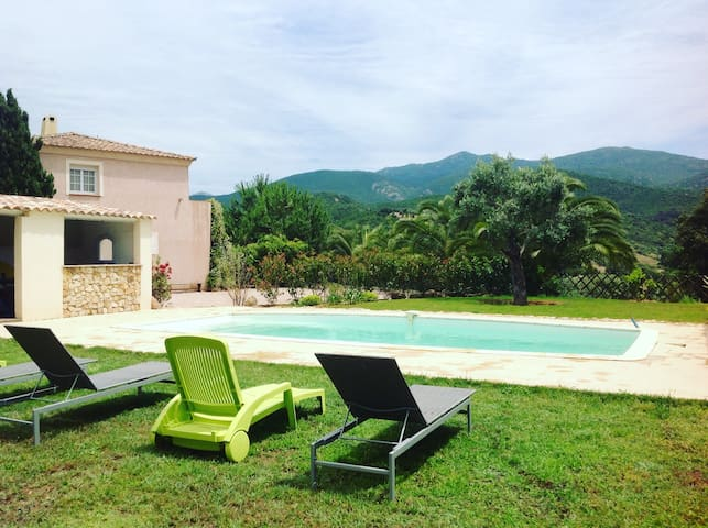 Villa avec piscine 6 couchages - Albitreccia - Rumah