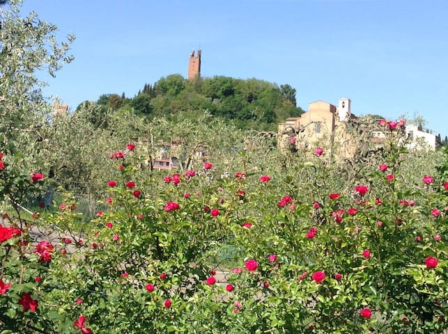 CasAria, in country next to the historical center