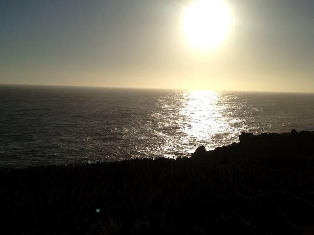 Los Molles casa frente al mar campo - Los Molles  - Dom