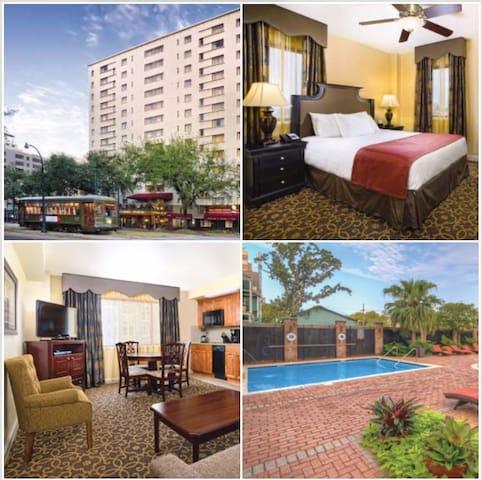 1 Bedroom Wyndham New Orleans - Avenue Plaza, LA - New Orleans - Leilighet