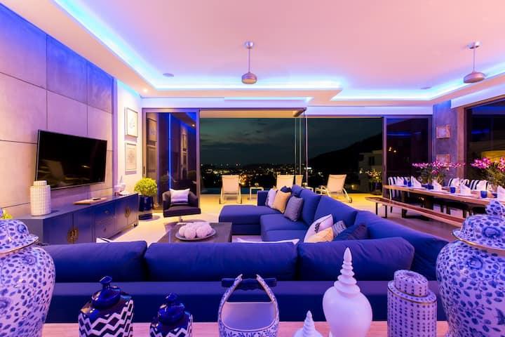 Villa Momo Luxury seaview 5 bedroom private pool