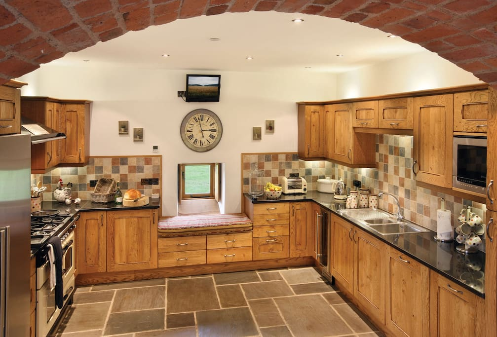 Ground floor:  Kitchen