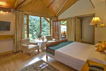 Forest View Room at the Johnsons, Manali