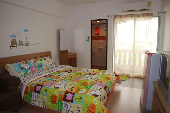 Room@ Don Muang Airport P.P.H.Condo - Bangkok - Daire