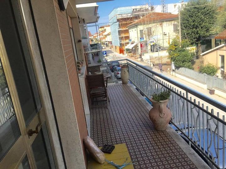 Grande appartamento con balcone Bellaria Centro