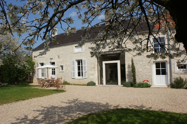 ancienne maison de vigneron - Tailly - House
