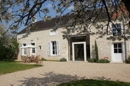 ancienne maison de vigneron - Tailly - บ้าน