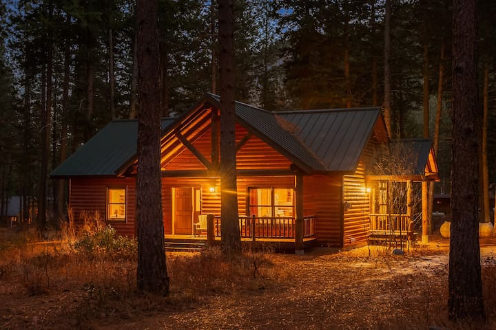 Alpine Woods cabin with NEW SKI-TRAIL access!