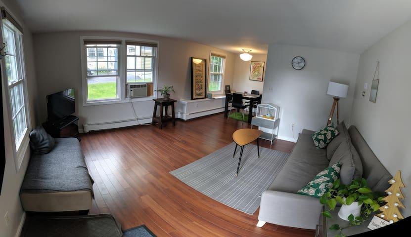 Clean & Simple 1st Floor Apt w/Parking-Close to DT