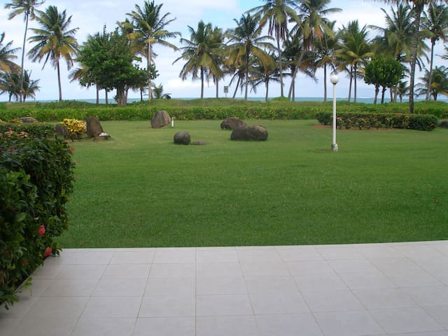 Beautiful view, ocean front apartment - Río Grande - Pis