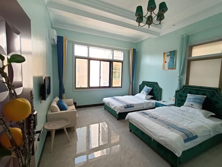 湄洲岛『彼•岸』北欧轻奢2房1厅(双床)